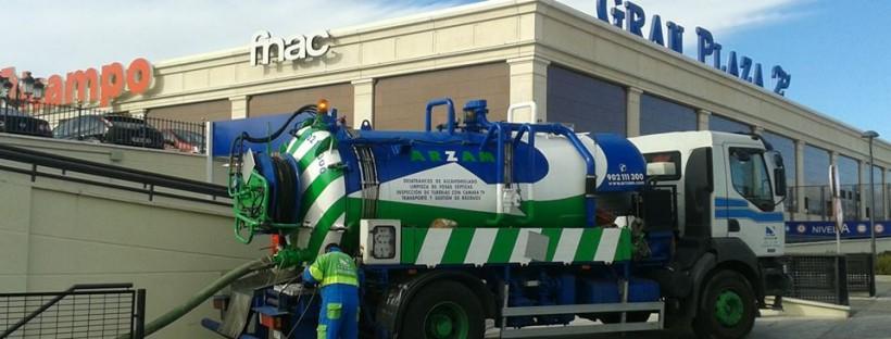 camión cisterna Madrid