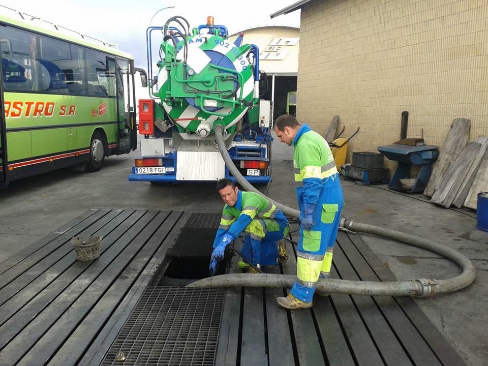 limpieza depósitos ARZAM Desatrancos Madrid
