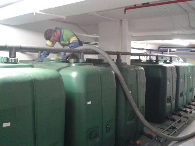 limpieza depósitos agua ARZAM Madrid