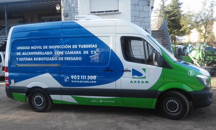 inspección tuberías ARZAM Madrid