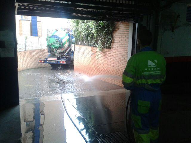 camiones cuba inundaciones arzam madrid
