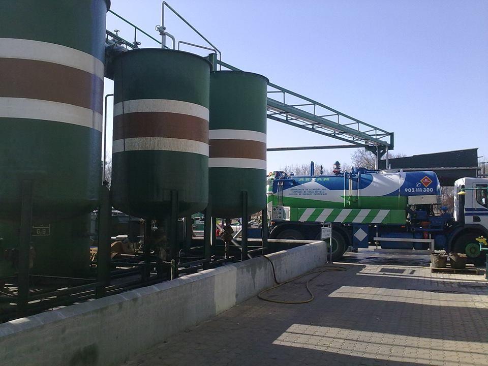 transporte y gestión de residuos ARZAM MADRID