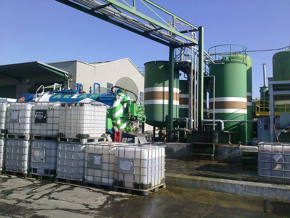 gestión residuos industriales MADRID ARZAM