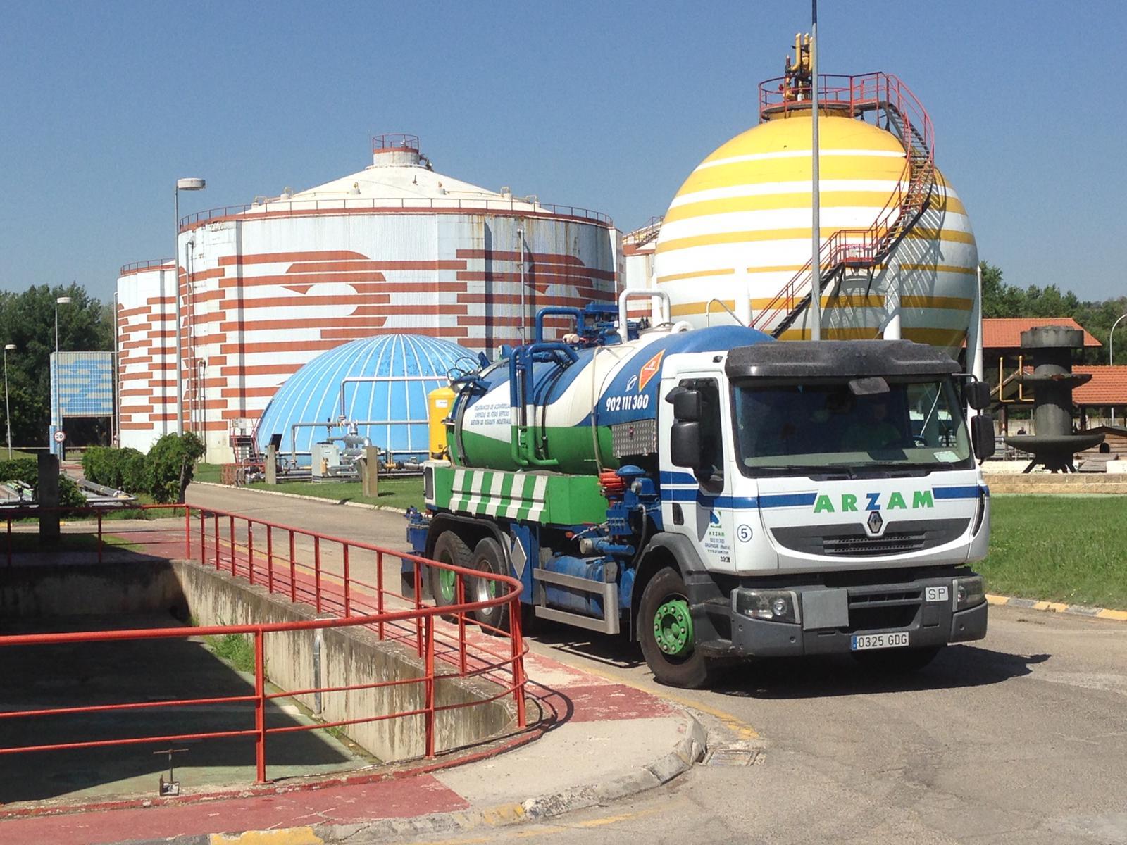 gestión residuos ARZAM Madrid Ávila Segovia