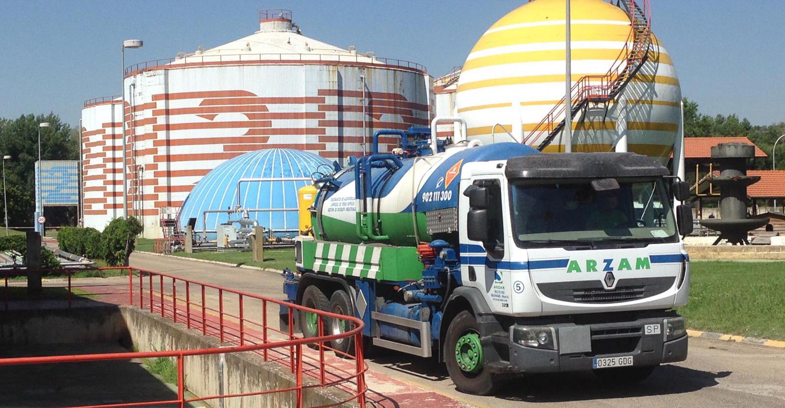transporte y gestión de residuos Madrid Avila Segovia ARZAM