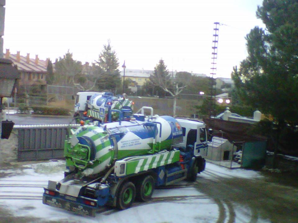 desatranco Madrid de tuberías por hielo