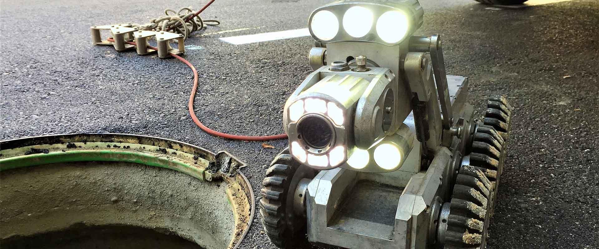 inspección de tuberías con cámaras TV en Madrid
