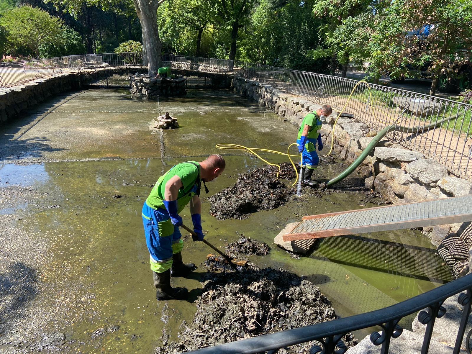 limpieza de pozos de agua Madrid