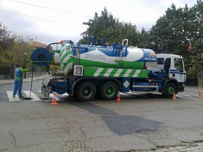 desatascos camión cuba Navalcarnero