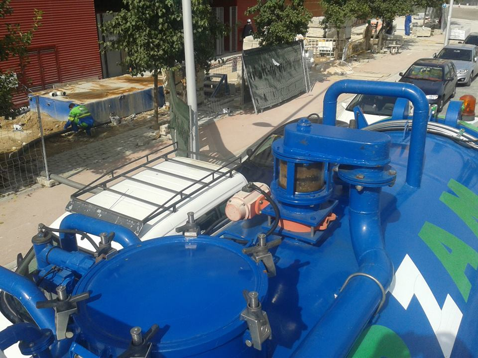 limpieza vaciado fosas sépticas Guadarrama